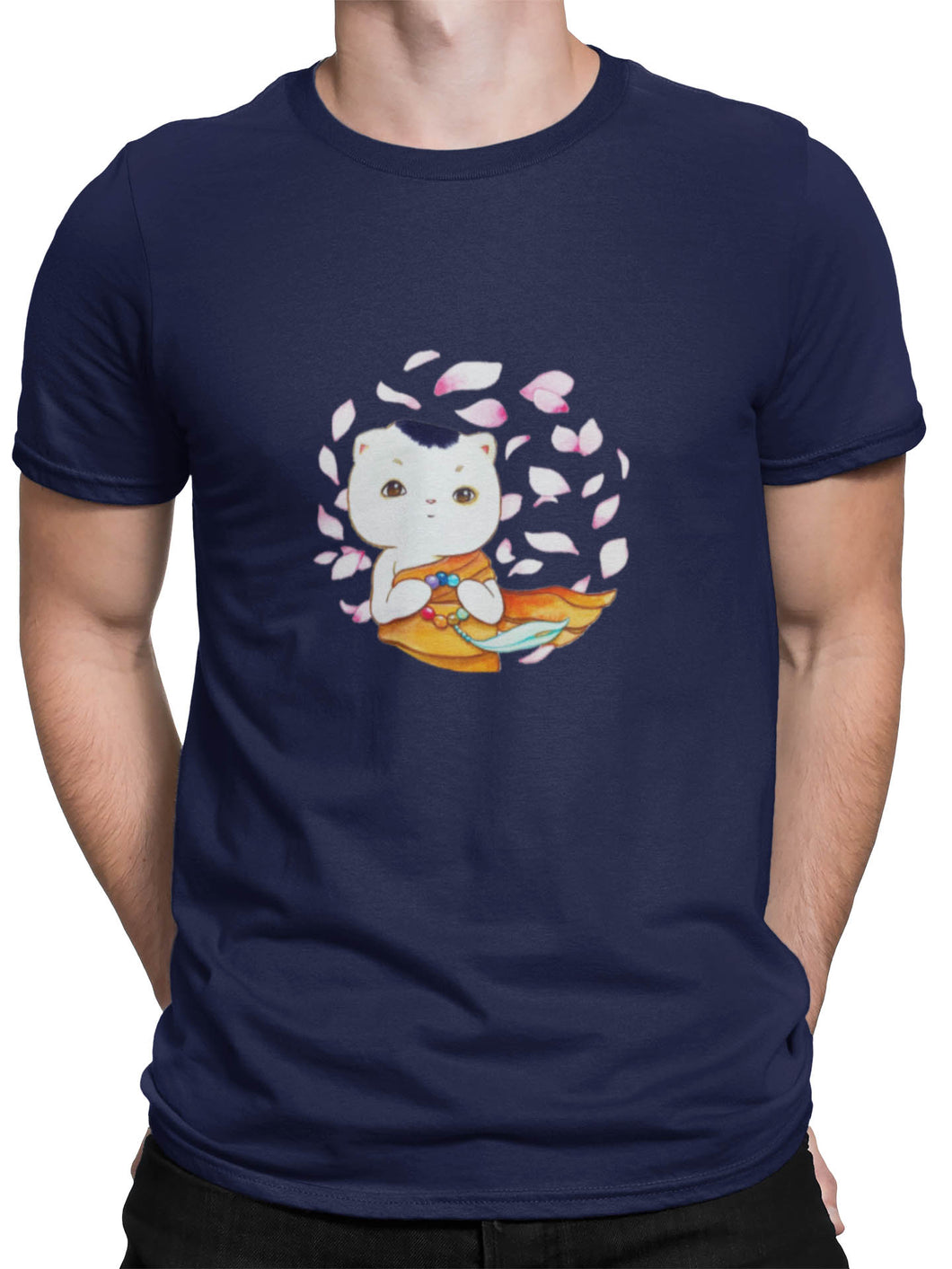 Monk Cat Tee - Men