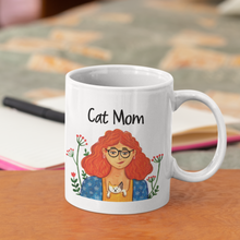 Load image into Gallery viewer, Cat Mom Mug - Curious Cat Company