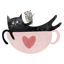 Load image into Gallery viewer, A Cup Of Purr Please Mug - Curious Cat Company