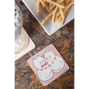 A Couple OF Cuties Coaster