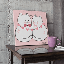 Load image into Gallery viewer, A Couple Of Cuties - Canvas Print
