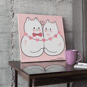 A Couple Of Cuties - Canvas Print