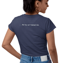 Load image into Gallery viewer, Cat Training Tee - Women