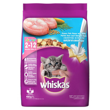 Load image into Gallery viewer, Whiskas Kitten -  Junior Ocean Fish with Milk (Dry).