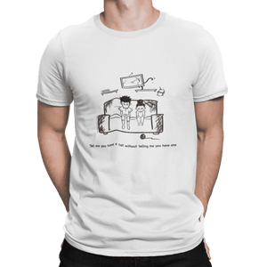 Cat Scratching Tee - Men