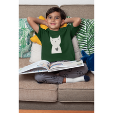 Load image into Gallery viewer, Hearty Cat - Boy's Tee - Curious Cat Company