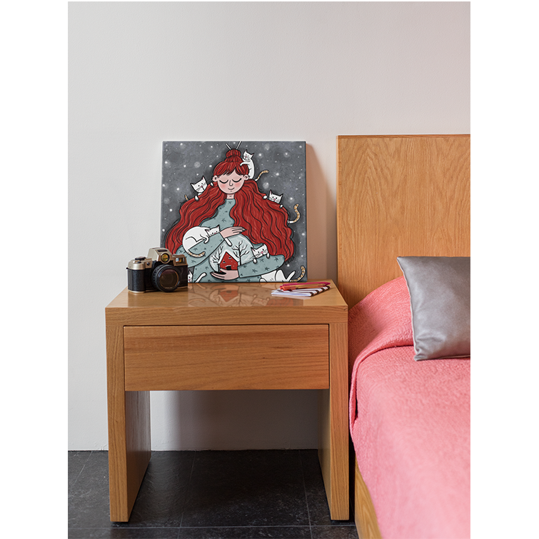 Not enough cats - Canvas Print - Curious Cat Company