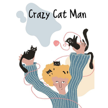 Load image into Gallery viewer, Crazy Cat Man Mug
