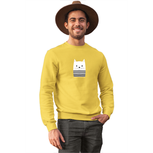 Mime Cat Sweatshirt - Unisex - Curious Cat Company
