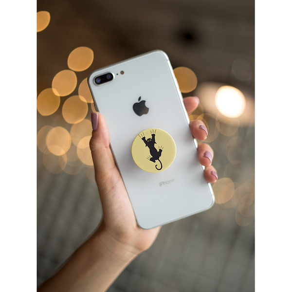 Scratchy Pop Socket Grip - Curious Cat Company