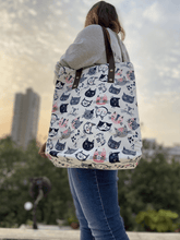 Load image into Gallery viewer, All About Cats Tote