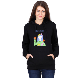 Crazy Cat Lady Hoodie - Unisex - Curious Cat Company