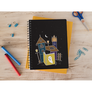 Ghost Town Cat Notebook