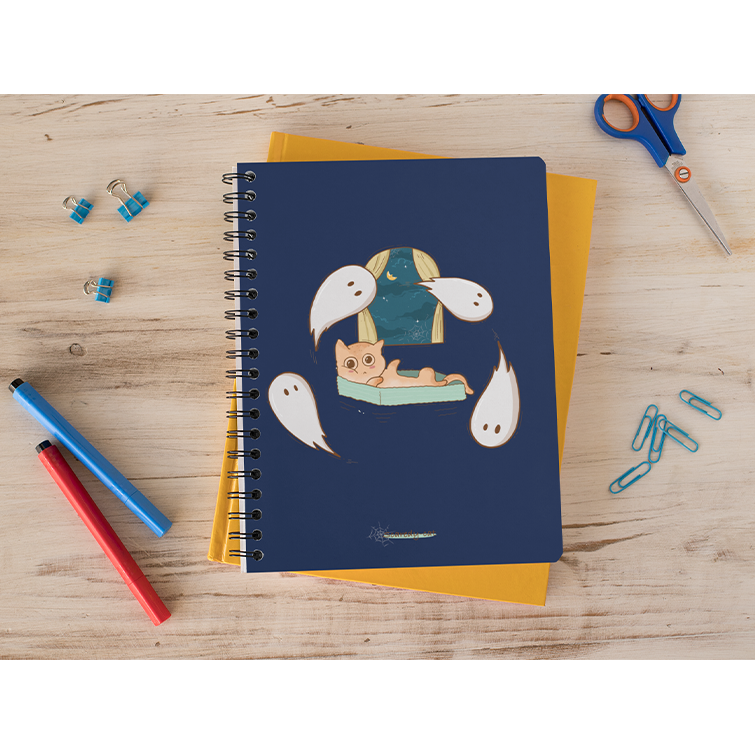 Scaredy Cat Notebook - Curious Cat Company