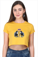 Load image into Gallery viewer, Meow Crop Top - Women - Curious Cat Company