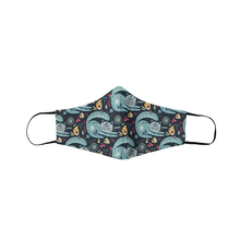 Load image into Gallery viewer, Paisley Cats Face Mask - Curious Cat Company