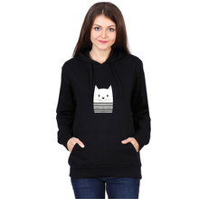 Load image into Gallery viewer, Mime Cat Hoodie - Unisex