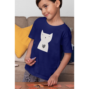 Hearty Cat - Boy's Tee - Curious Cat Company