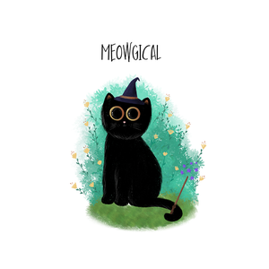 Meowgical - Framed Poster