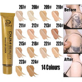 Brand DNM Full Coverage Cream Concealing Foundation Concealer Flawless Concealer Face Contouring Makeup Silky Smooth Texture