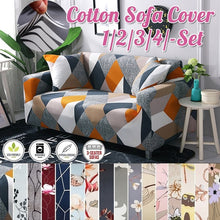 Load image into Gallery viewer, TOP QUALITY 18 Colors 1/2/3/4 Seaters Sofa Slipcover Stretch Protector Soft Couch Cover Anti-Slip Elastic Home Indoor Furniture Decor Sofas Stretch Sofa Slipcover Sofa Cover Furniture Protector Couch Soft