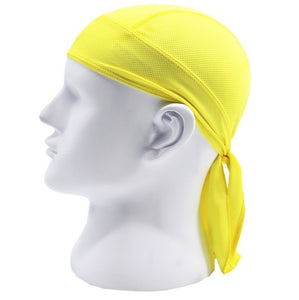 5 Color Outdoor Sports Quick Dry Cycling Cap Headscarf Headband Bicycle Cap Men Riding Bandana Pirate Hat