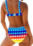 Women Bikini Set Swimsuit Bikinis Halter Swimwear Women Beach Wear Bathing Suit Tankini Monokini