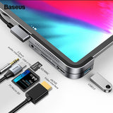Baseus Multi USB C HUB to HDMI USB 3.0 Type C HUB For iPad Pro Multiple Port Type-C USB HUB Adapter For MacBook Pro Air