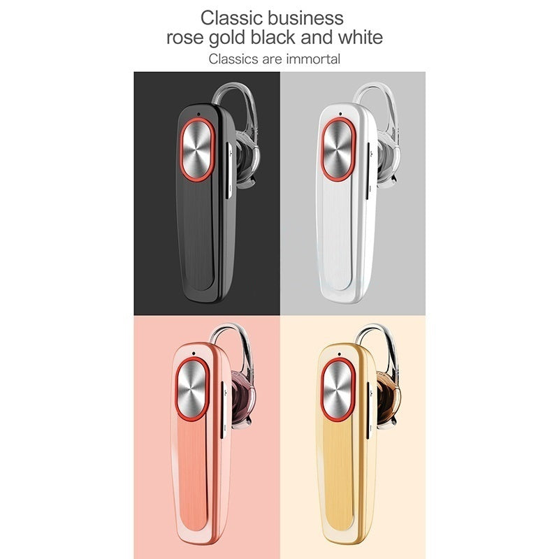 2019 Wireless Bluetooth Earphone Long Standby with Mic Hands-free Bluetooth Earphone Fashion Ear Hook For iPhone Samsung Android Xiaomi