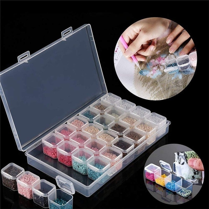 40/42Pcs 5D Diamond Painting Tools and Accessories Kits Diamond Embroidery Box for Adults or Kids