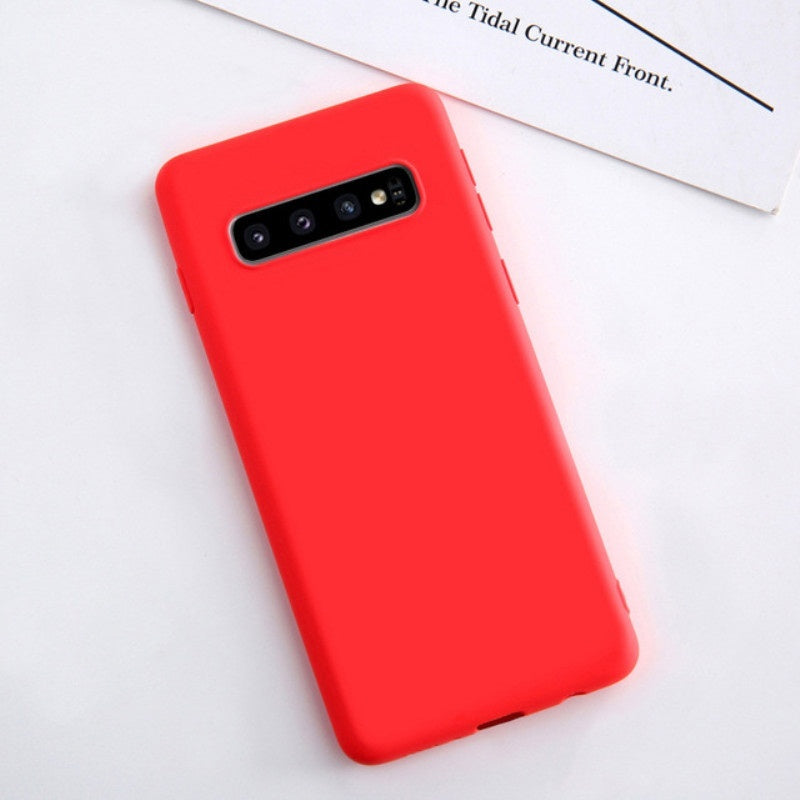 Liquid Silicone Case Phone Case For Samsung Galaxy S8 S9 S10 E Plus