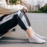 1/3/5/10 Pairs Men's Low Cut Socks Shallow Invisible Socks Spring and Summer Short Socks Pure Cotton Breathable Socks