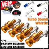 5 Colors Universal Turbo Sound Simulator Whistle Car Exhaust Pipe Whistle Vehicle Exhaust Pipe Sound Muffler S/M/L/XL