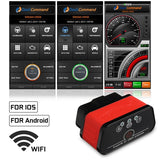 WIFI / bluetooth KW903 OBDII OBD2 Car Diagnostic Scanner Reader OBD Scanner Tool For IOS Android