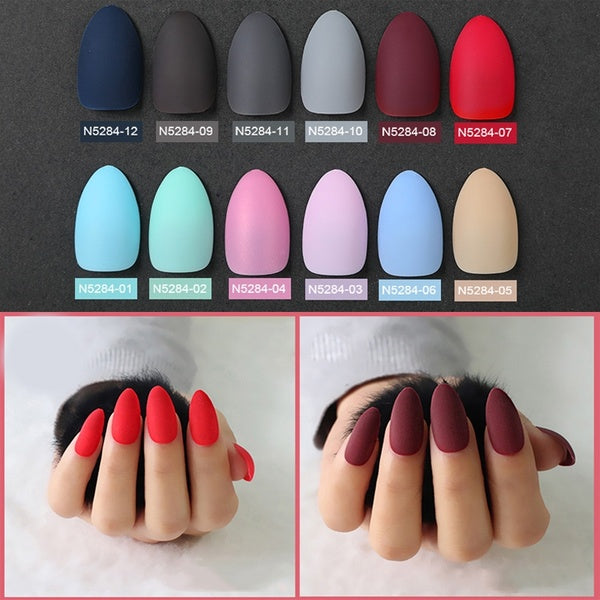 24Pcs False nail Detachable tips for Nail Extension Manicure Fake False Nails