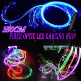 150CM LED Fiber Optic Whip,Fiber Optic Dance Whips,Super Bright 360¡ã Rotation More Modes and Effects,Light Up Waving Toy | Flow Lace Dance Festival  for Pubs Dancers Kids Shows Concerts