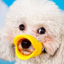 Load image into Gallery viewer, Pet Dog Soft Mouth Muzzle Silicone Anti-bite Duck Mouth Mask for Dogs Pet Accessories