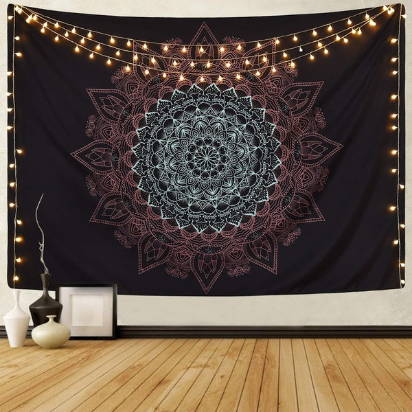 Hot Sale Tapestry Wall Decoration Tapestry Multifunctional Tapestry Table Cloth Beach Towel and Window/bed Curtain