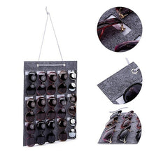 Load image into Gallery viewer, 15 Slot Glasses Organizer Display Case Sunglasses Storage Hanging Sunglasses Stand Holder Eyeglasses Wall Organizer Jewelry Tray Storage Unisex