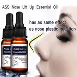 HONGXIAO 10ML  Essential oil 10ml nose lift up thin smaller nose care beautify massage essential oils
