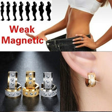 Load image into Gallery viewer, Exquisite Fashion Creative Stainless Steel Earring Men's and Women's Earrings Diamond Earring Health Care Weight Loss Earrings Lover Gifts Stimulating Acupoints Gallstone Earrings Magnetic Therapy Jewelry