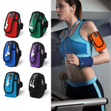Universal Jogging Waterproof Case Sports Phone Holder Armbands Bag Running Pouch