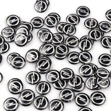 Load image into Gallery viewer, 5pcs/lot 14mm 0.55'' Car Key Fob Badge Stickers Radio Button Emblem Decals for OPEL