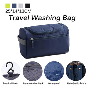 Travel Wash Bag for Men Women Portable Waterproof Outdoor Travel Storage Bag With Hanging Hook Toiletries Bags Oraganizers