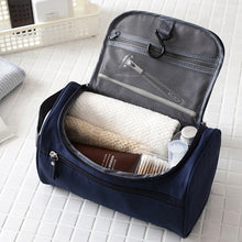 Load image into Gallery viewer, Travel Wash Bag for Men Women Portable Waterproof Outdoor Travel Storage Bag With Hanging Hook Toiletries Bags Oraganizers