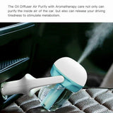 Mini Car Aromatherapy Humidifier Car Charger Fresh Purification Function