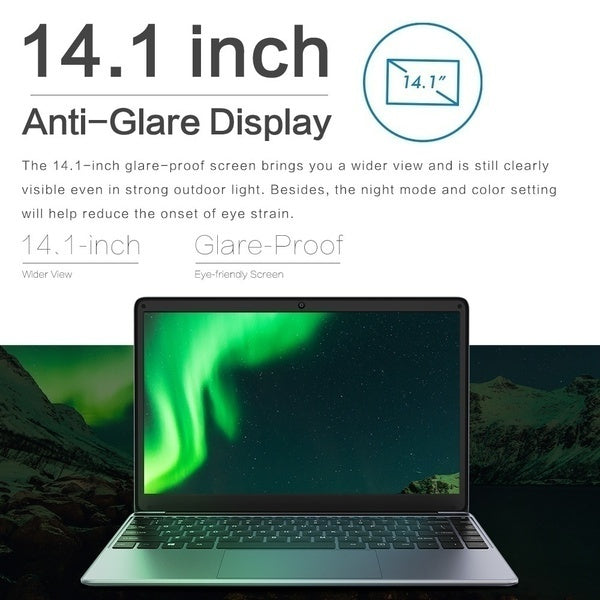 CHUWI Laptop Upgrated HeroBook 4G RAM 64G ROM 256G SSD M.2 SSD Full Size Backlit Keyboard Win10 E8000 Processor 1920*1080 IPS Screen Ultrabook
