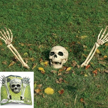 Load image into Gallery viewer, 3 Piece Halloween Horror Buried Alive Skeleton Skull