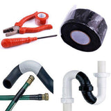5/10 Ft Silicone Tape Waterproof Repair Bonding Sealing Tapes Rescue Self Adhesive Fusing Wire Tools Hose Pipe Insulating Tape