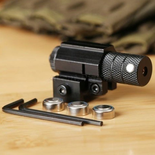 Powerful Tactical Mini Red Dot Laser View Scope Weaver Picatinny Rifle Mount Gun Shooting Gun Airsoft Hunting Riflescope